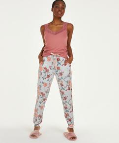 Pantalon de pyjama Jersey, Gris