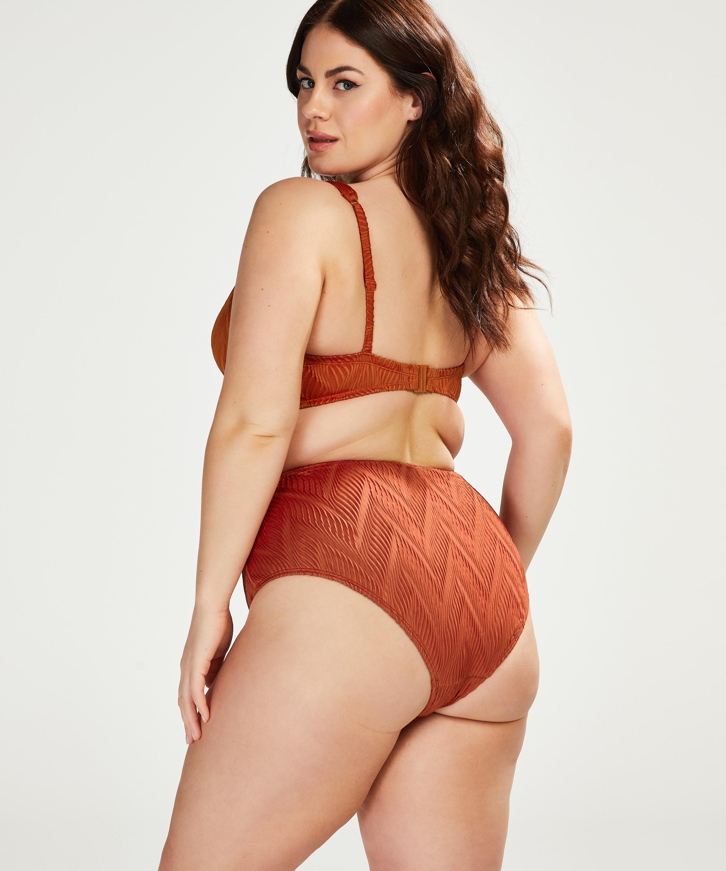 Slip de bikini haut Galibi I AM Danielle, Orange, main