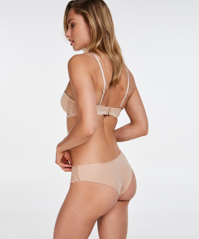 Vorgeformter Bügel-BH Angie, strapless, Beige, main