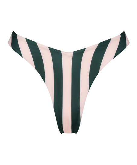 Bas de bikini échancré Santa Rosa, Vert