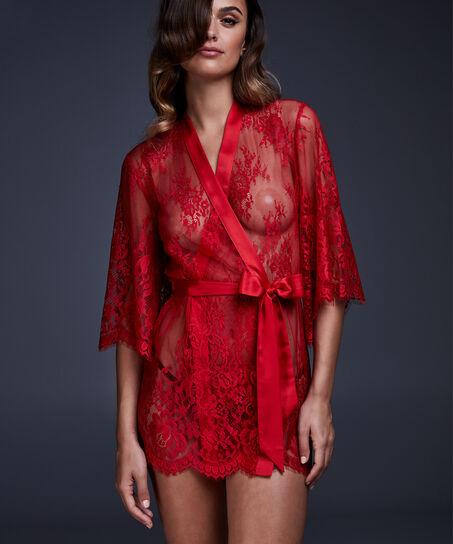 Kimono Lace Isabelle, Rot