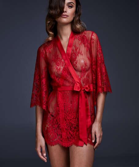 Kimono Lace Isabelle, Rouge