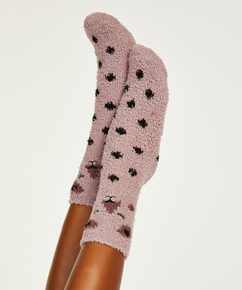 2 Paar Cosy Socks, Rose