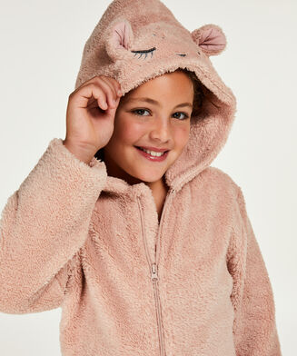 Onesie Teens Fleece, Grau