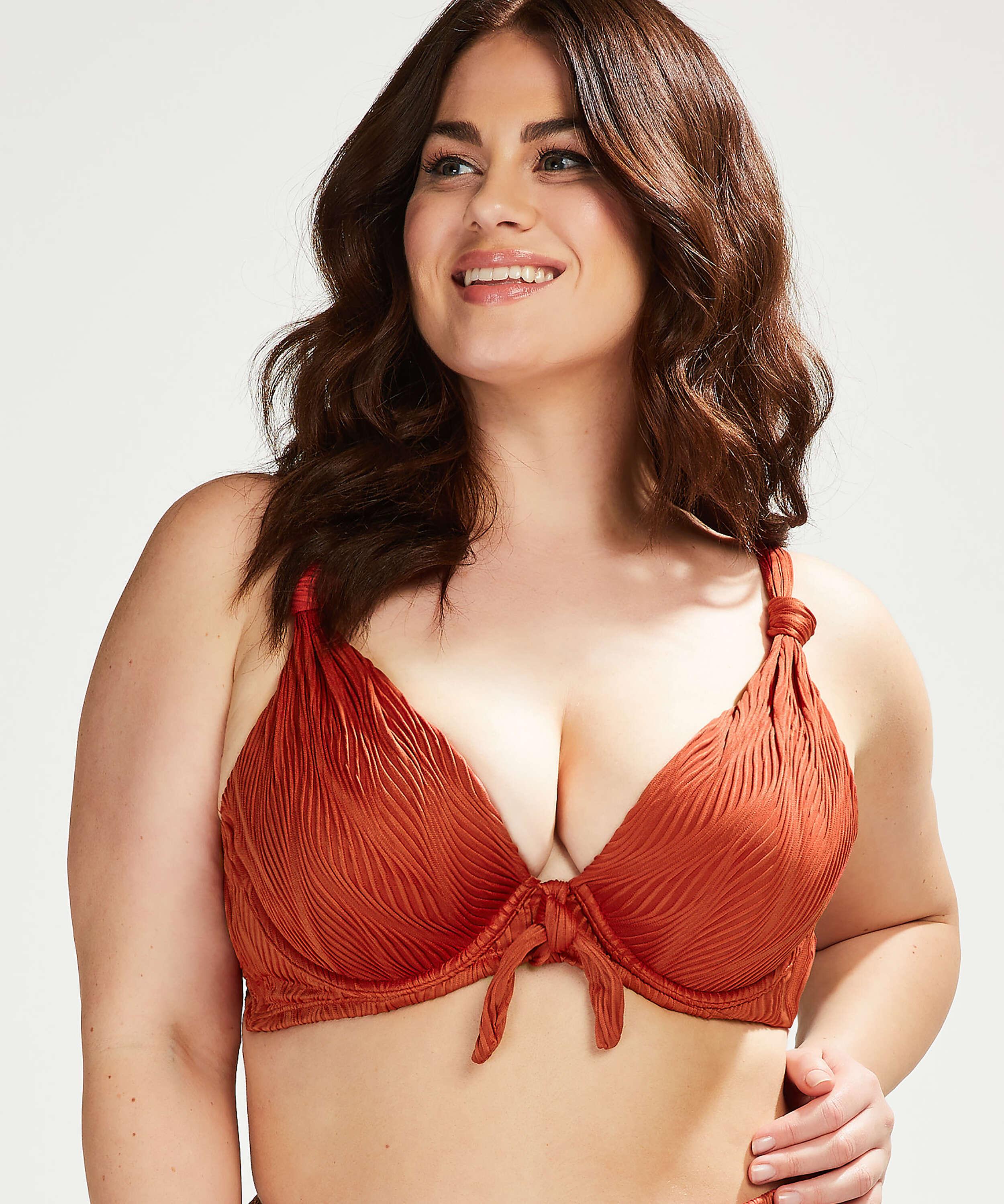 Vorgeformtes Bügel-Bikinioberteil Galibi I AM Danielle Cup E +, Orange, main