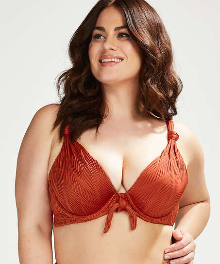 Vorgeformtes Bügel-Bikinioberteil Galibi I AM Danielle Cup E +, Orange