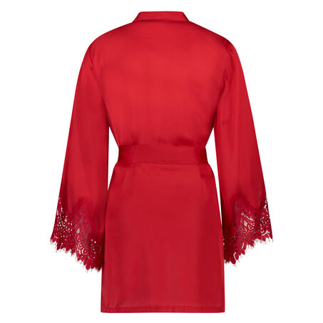 Kimono Satin, Rot