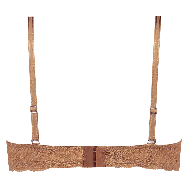 Soutien-gorge à armatures préformé sans bretelles Angie, Beige, main