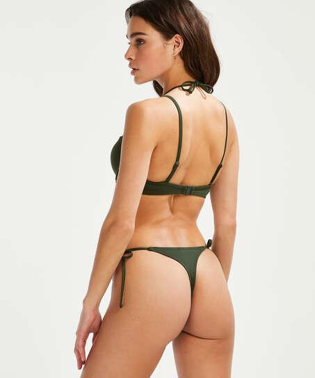Vorgeformtes Bügel-Bikinioberteil Luxe, grün