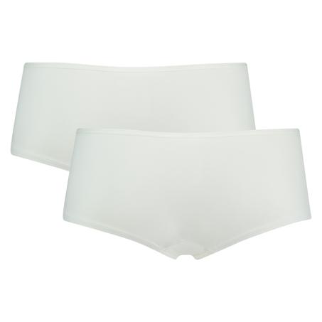 2-pack boxershorts Kim Cotton, Weiß