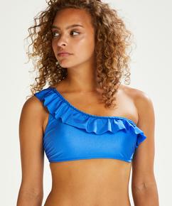 Crop-Top-Bikinioberteil Suze, Blau