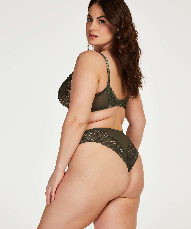 Unwattierter Bügel-BH Rabella I AM Danielle , grün, main