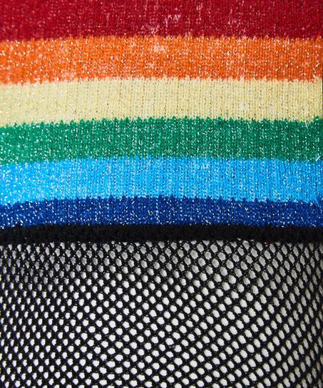 1 Paar Socken Pride, Schwarz