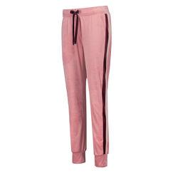 Pantalon de jogging Velours, Rose