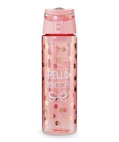 Wasserflasche, Rose