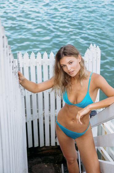 Image of Hunkemöller Bikini-Slip Celine Blau