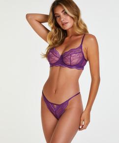 Slip brésilien Isabelle, Violet