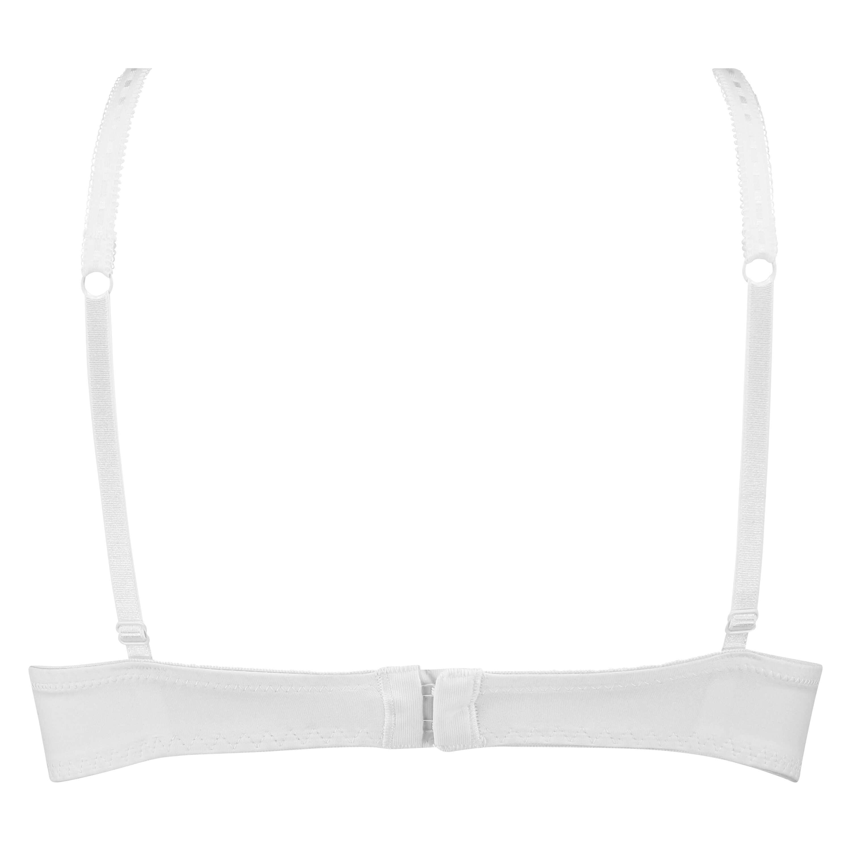 Soutien-gorge à armatures préformé push-up Maya, Blanc, main